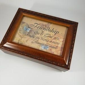 Cottage garden jewelry box, friendship